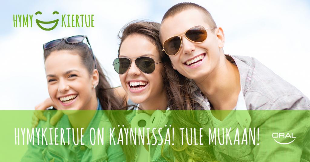 Missä asuvat hymyilevimmät suomalaiset?