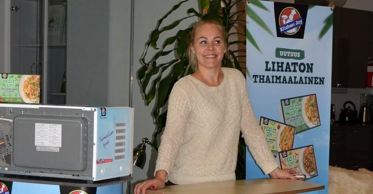 Promootiopäällikkö Hanna: FMCG-puolella myynninedistämisellä on erityisen tärkeä rooli