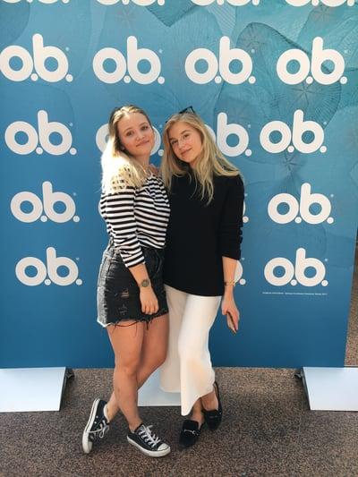 O.b. Turku Ilona ja Jasminsofie