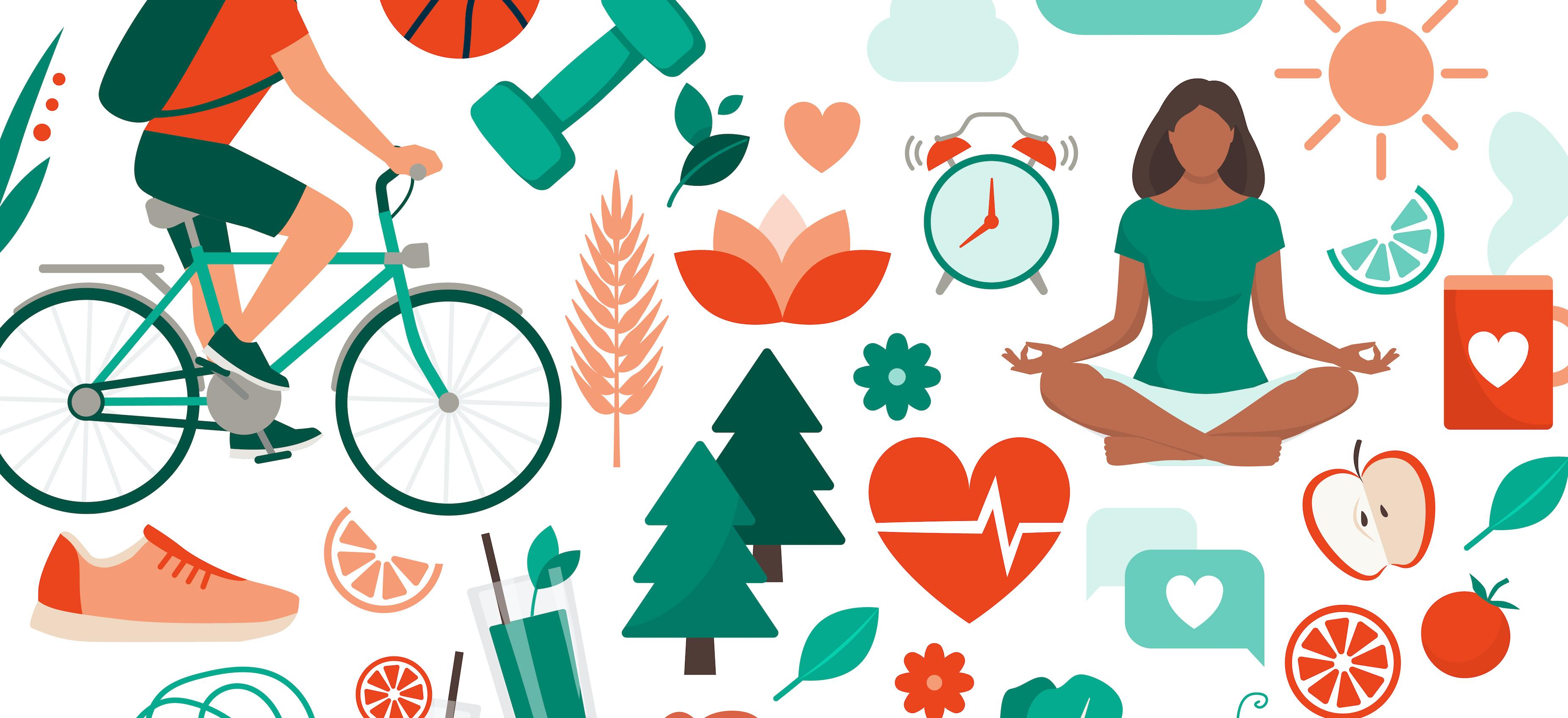 Wellness Hourina voi liikkua, levätä tai opiskella