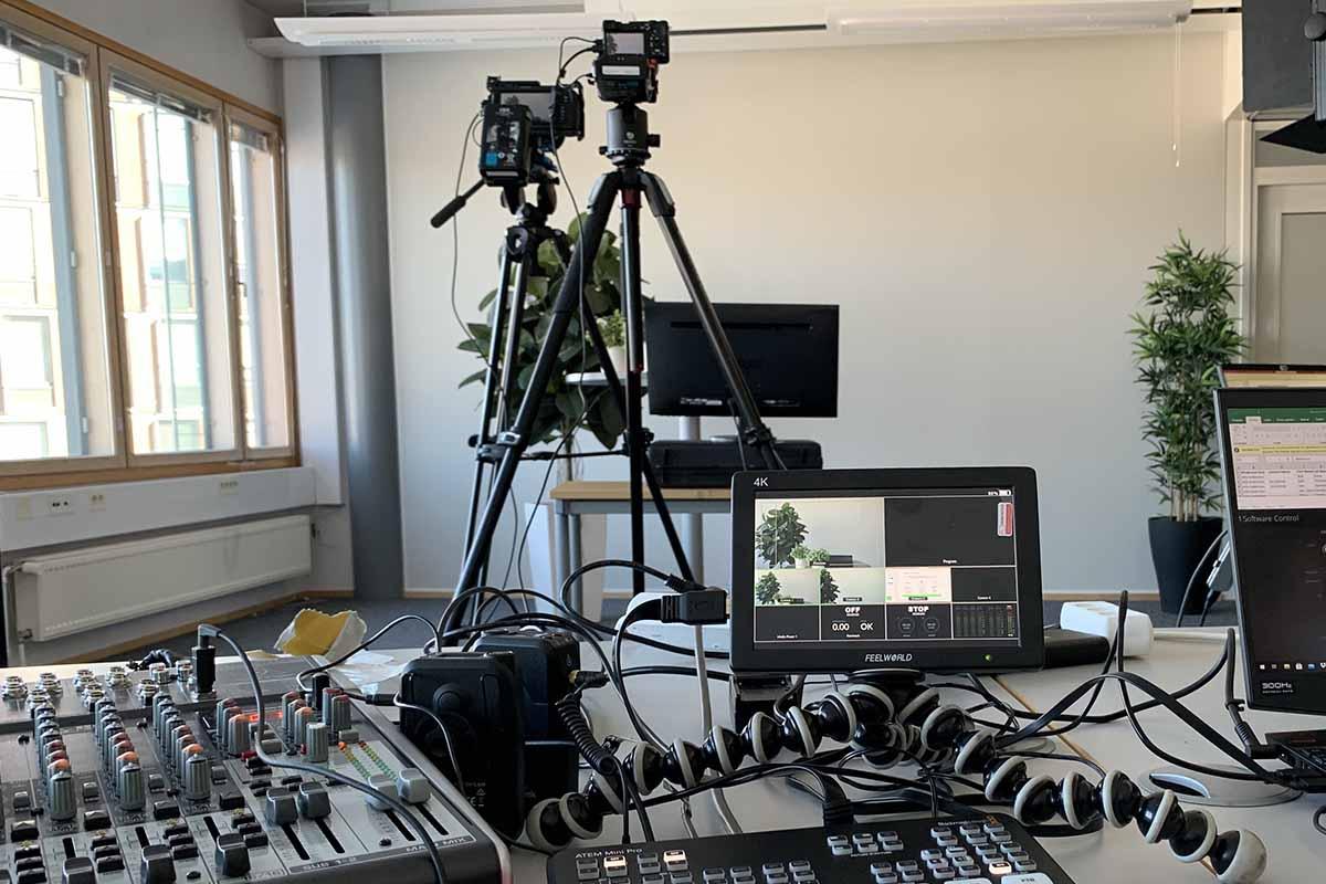 Virtuaalitapahtuman nakyma ohjaajan nakokulmasta