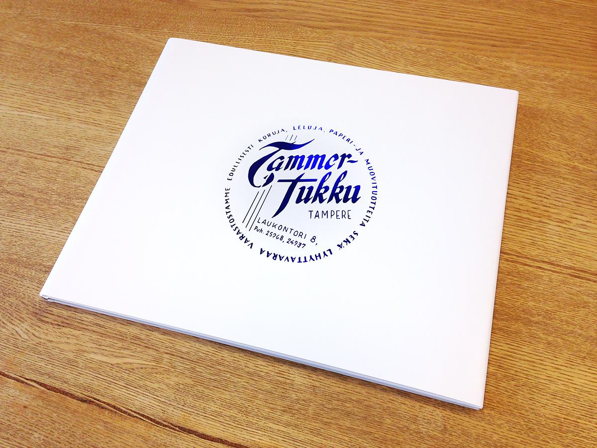 Tammer Brands juhlakirjaprojekti